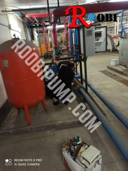تعمیر پمپ آب کارخانه