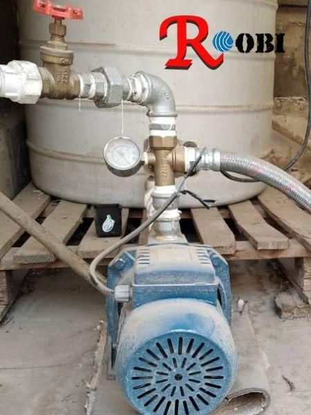 نصب پمپ آب در میرداماد